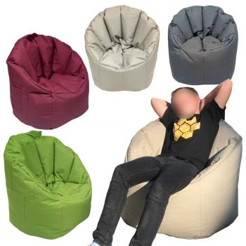 Sitzsack Garten Sessel Big Bamba sehr formstabil - outdoor - viele Farben