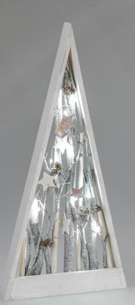 GILDE nostalgische Hängedeko Fensterdeko Stern rot aus Metall 23x16x2 cm